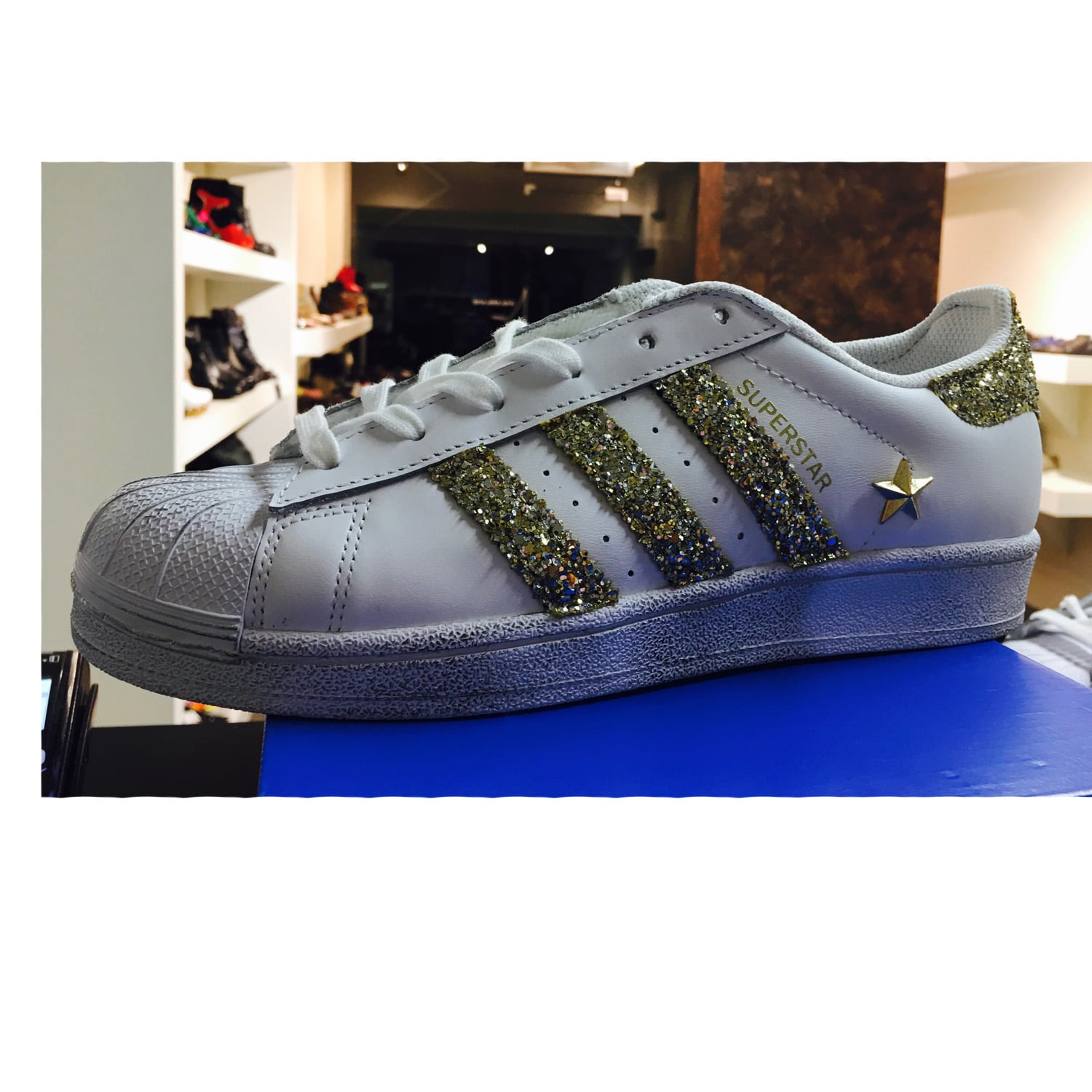 adidas superstar glitter scontate