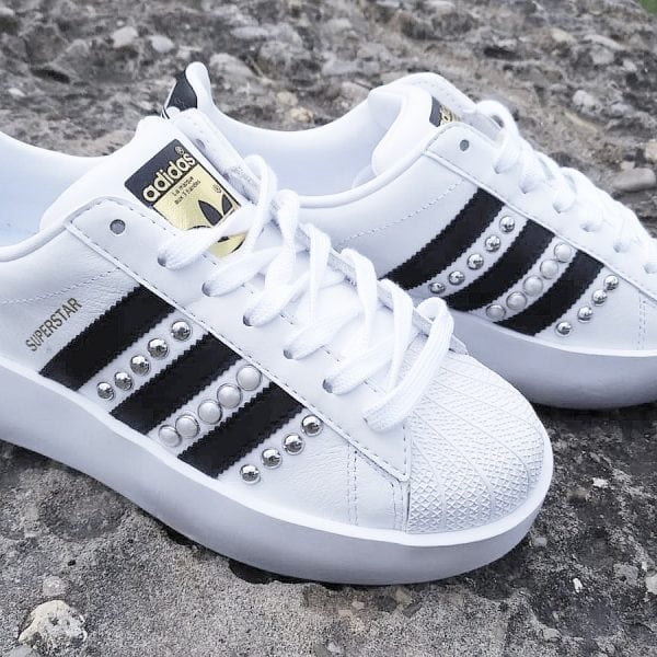 adidas personalizzate, adidas superstar personalizzate, superstar borchie, adidas superstar borchie, adidas glitter, adidas personalizzate glitter, adidas personalizzata bold