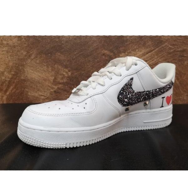 scarpe nike glitter