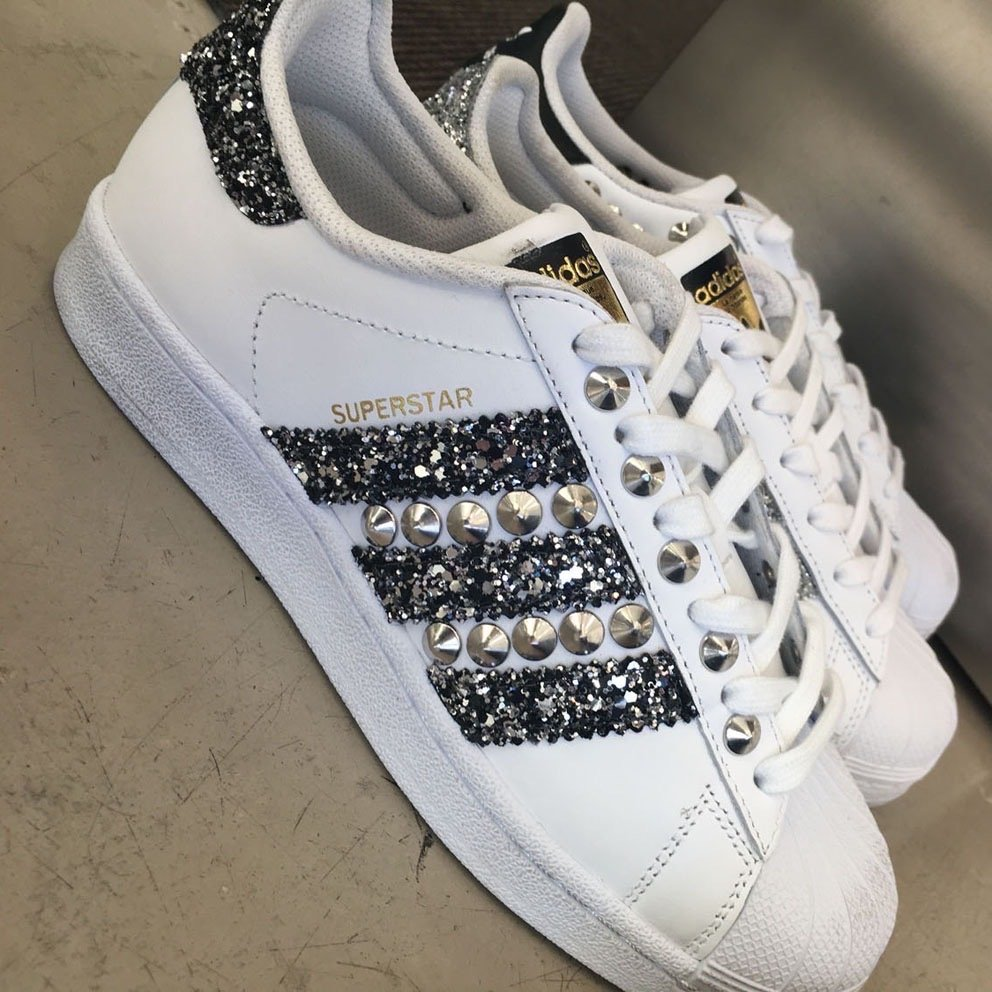 Donna Adidas Sneakers Adidas Superstar Personalizzata