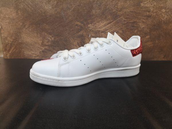 ADIDAS PERSONALIZZATA - il calzolaio shop - san Valentino day - Adidas stan smith