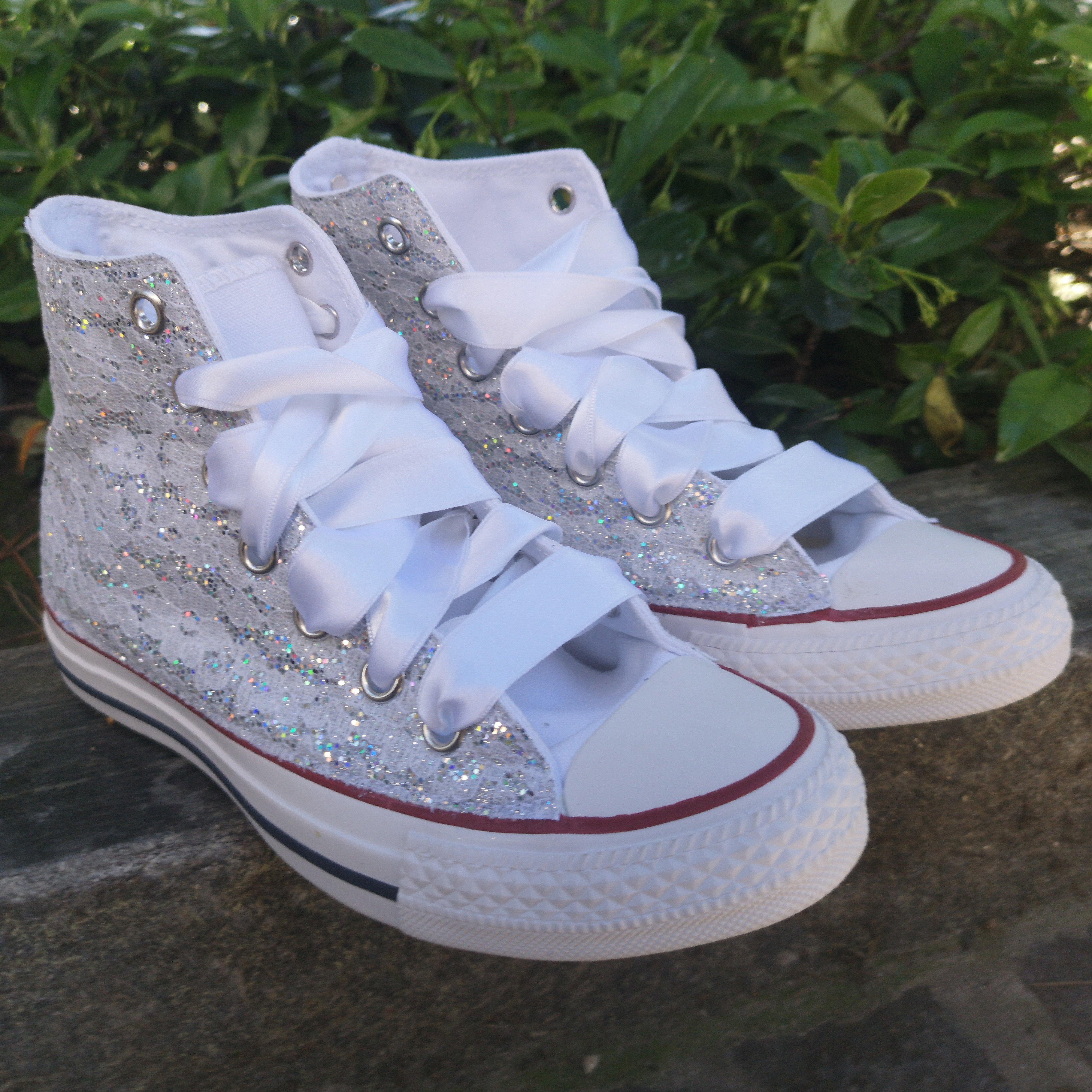 scarpe donna converse personalizzate basse