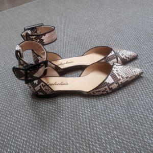 - Ballerina bebè aperta lati scarpa punta - scarpa - ilcalzolaioshop -