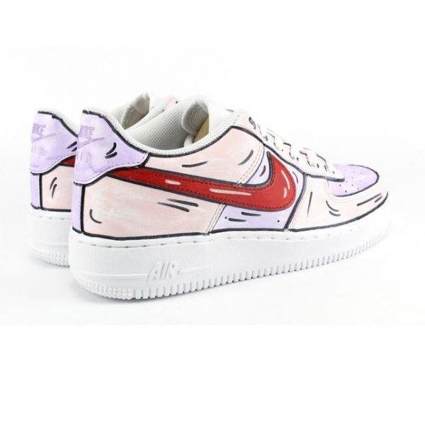 nike personalizzate - ilcalzolaioshop - nike - sneakers - NIKE AIR FORCE 1 '07 CARTOONS
