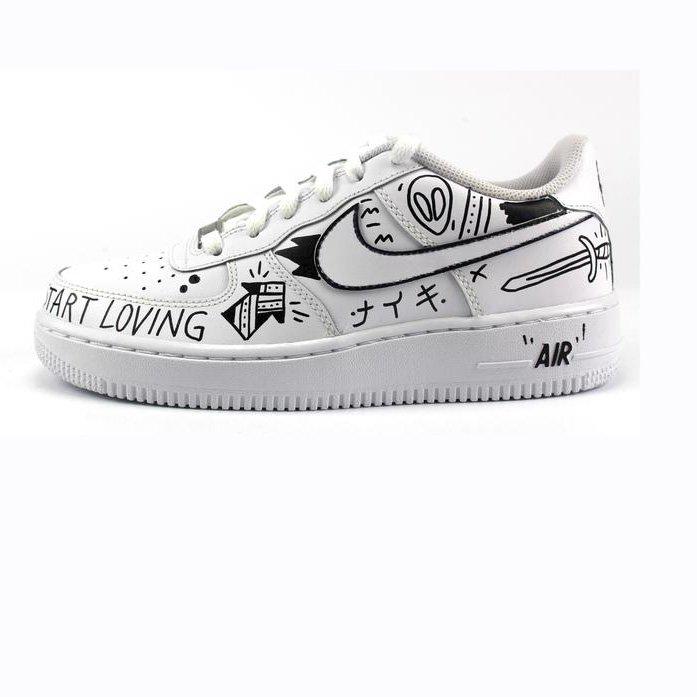 Nike Air Force 1 '07 personalizzata Il Calzolaio Shop