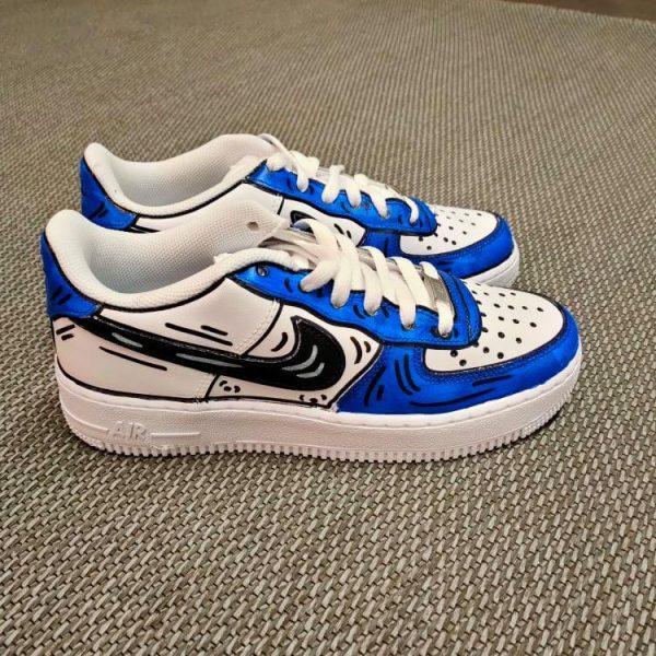 Nike personalizzata - ilcalzolaioshop - nike - sneakers -